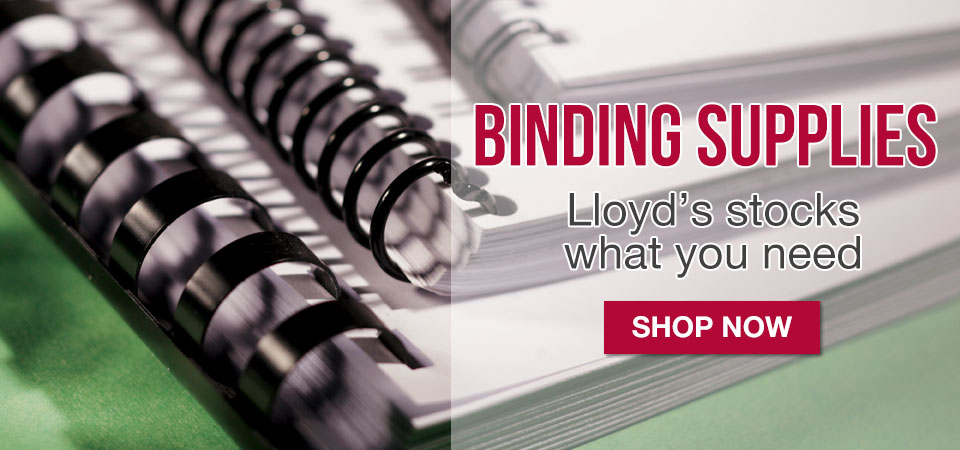 Shop our wide selection of binding supplies