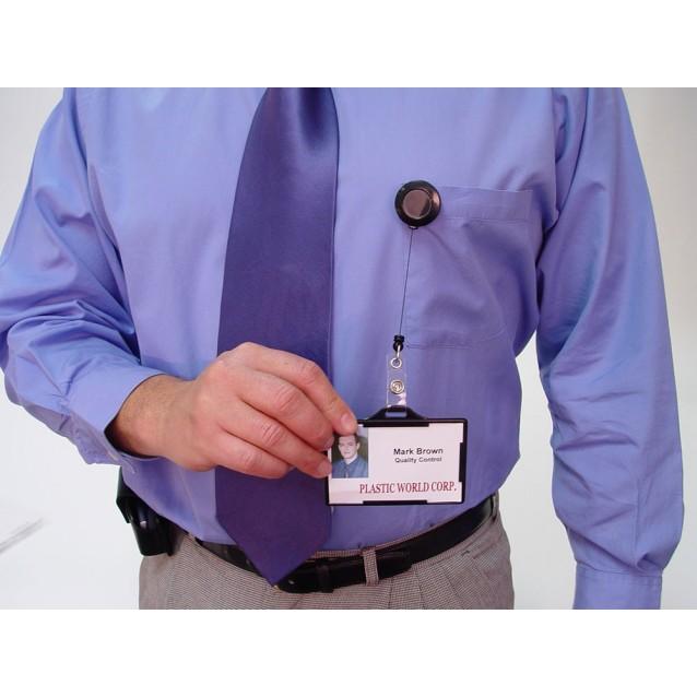 ID Badge Retractors (Transparent Color)