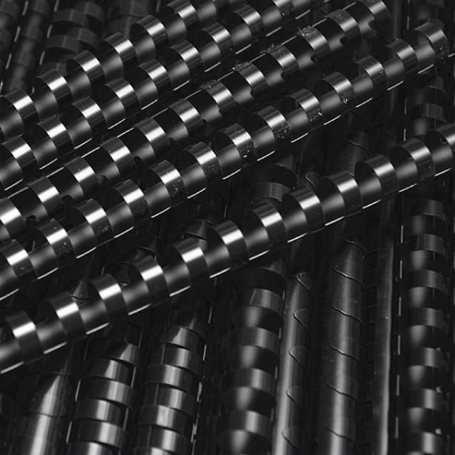 19 Ring Binding Combs, Black