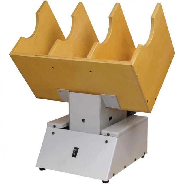 Lassco Wizer LasscoJog LJ-10 3-bin Paper JoggerLassco-WizerLJ-10