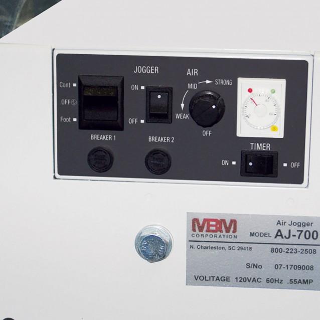 MBM AJ 700 Anti-Static Air-Feed Floor Model Jogger