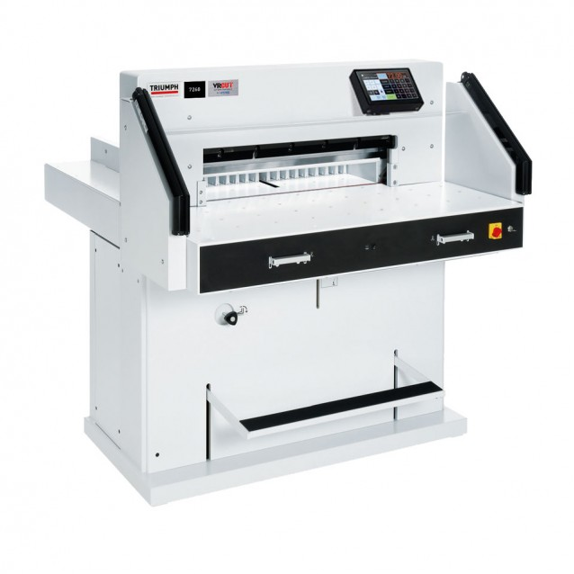 "Triumph 7260 28"" Programmable Hydraulic Paper Cutter"