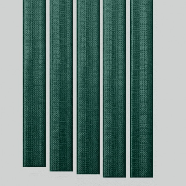 "11"" Metalbind Classic Linen Channel, Green [Special Order]"