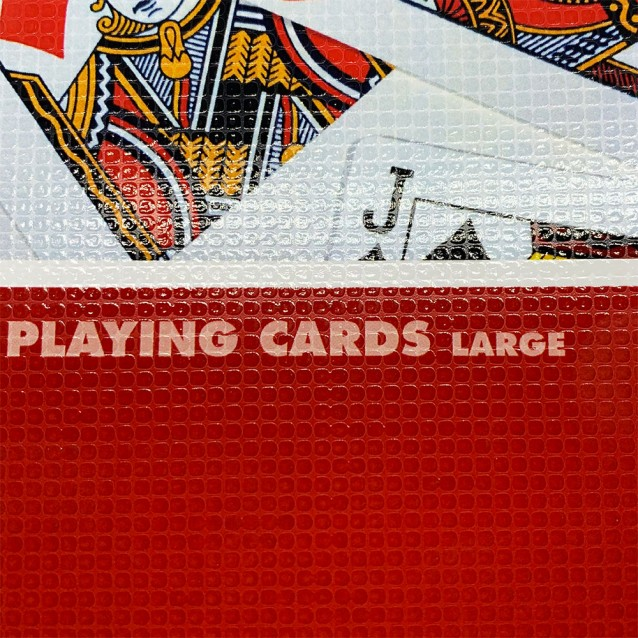 Tec Lighting Textured Roller - Large Playing Card