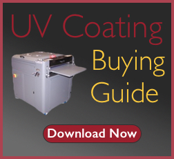 download a FREE uv coating machine buying guide and uv coating fluid comparison
